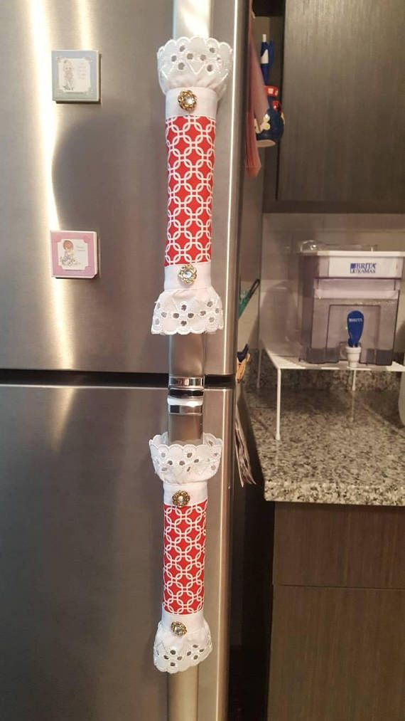 Red Handle Covers Fridge Handle Covers Refrigerator Handle Fridge Handle Covers Refrigerator Covers Cute Furniture