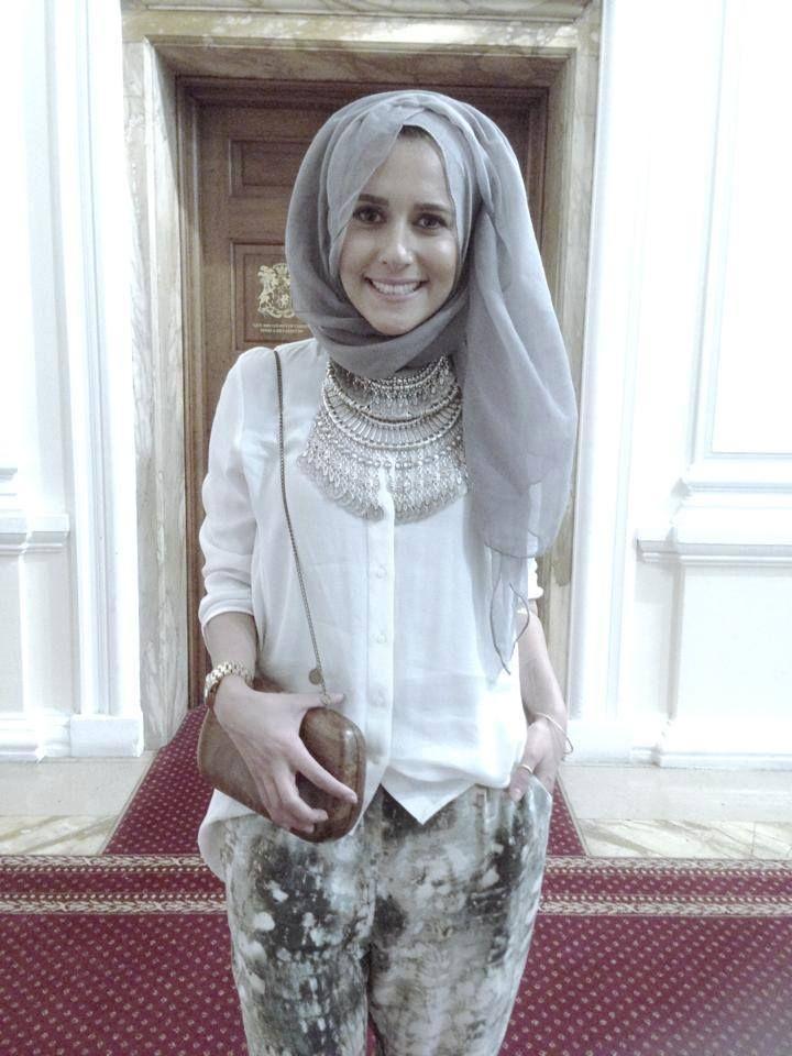 Dina Tokio Hijab Style Insyaallah Pinterest A Well Funny And Ootd