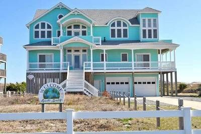 Frisco vacation rentals bucks buck oceanfront outer for Hatteras cabins rentals