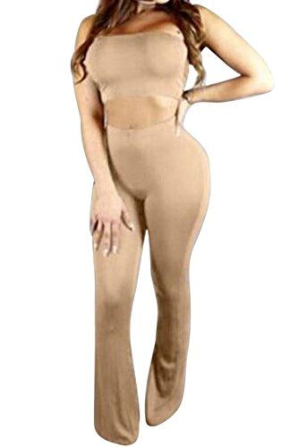 New Trending Pants: Pink Queen Women Khaki Casual Night Out Clubwear Tube Top and Trousers Suits Set. Pink Queen Women Khaki Casual Night Out Clubwear Tube Top and Trousers Suits Set  Special Offer: $20.99  288 Reviews Size Details S–Bust: 80cm/31.50 inches, Waist: 64-90cm/25.20-35.43 inches, Hip: 94cm/37.01 inches, Pants Length: 110cm/43.31 inches M–Bust: 84cm/33.07...