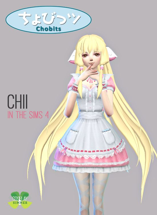 Chobits: Chii - The Sims 3 by Xjapanese-catX on DeviantArt