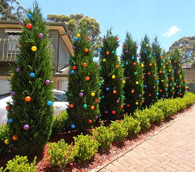 landscape design the outdoor christmas decoration amazing attractive beauty and unique decorate tree christmas - Outdoor Christmas Tree Decorations