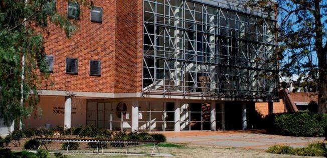 Deerubbin Centre, 300 George Street Windsor. Hawkesbury Central Library opened its doors in this building in June 2005.