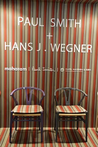 chairs by Paul Smith and Hans Wegner
