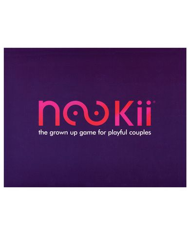 Nookii game - $32.76 - Board games grow up with Nookii, an adult sex game for couples. Have fun with your partner as you roll dice and roll around with each other. Romantic, playful and fun, this sex game will have you wanting more than just a little nookii! http://www.sextoybuys.com/Nookii-game/sku-CNVELD-6311?a=pinterest