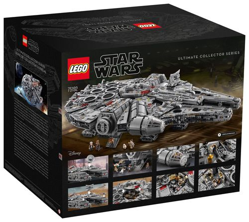 LEGO Star Wars Ultimate Collector Series Millennium Falcon (75192) Officially Announced : After much rumors and speculation for the past few years LEGO has officially announced the newest LEGO Star Wars Ultimate Collector Series set with the updated Millennium Falcon (75192). This set has been teased for the past month and we can now finally talk about the highly anticipated set. As stated in the teaser last week the UCS Millennium Falcon will have a whopping 7541 which makes it the largest…