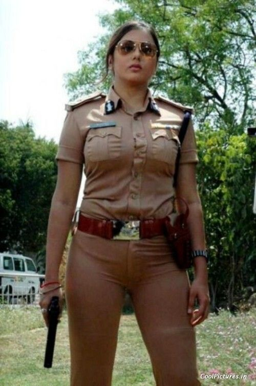 Beautiful Indian Police-Officer (Lady-Police)
