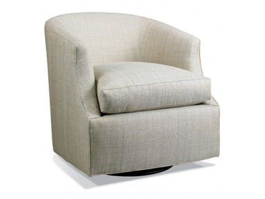 Hickory White Swivel Glider Chair 4272-01M