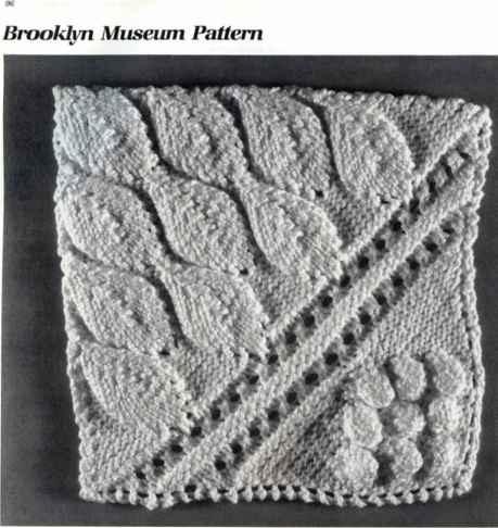 Knob Stitch Knitting Patterns Raised knitting stitches Pinterest Knitti...