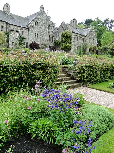 Cotehele, the beautiful medieval/Tudor National Trust property in Cornwall, England