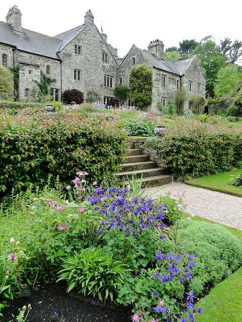 Cotehele, a mediaeval/Tudor house in the parish of Calstock, Cornwall, UK