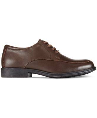 Kenneth Cole Reaction Boys' or Little Boys' Kid Club Dress Shoes - Brown 13.5