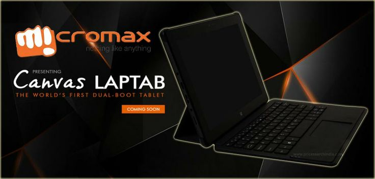 Micromax announced its first dual boot Windows and Android tablet called as Laptab. For more details visit with us.