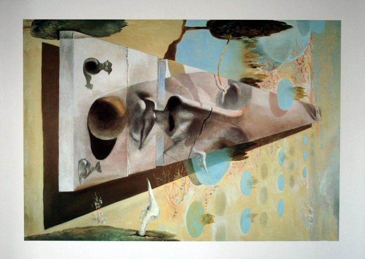 Salvador DALI : Apparition du visage de l'Aphrodite de Cnide, 1981