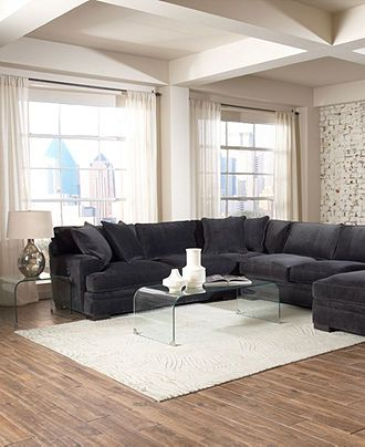 Teddy Fabric Sectional Living Room Furniture Collection