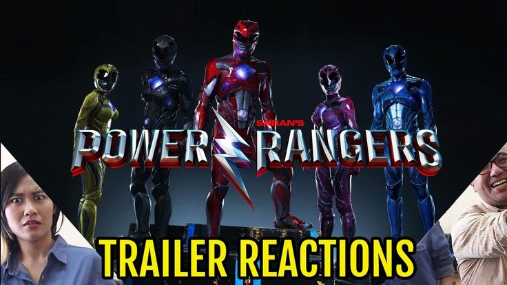 Movie Trailer Reactions : Power Rangers Movie - Bahasa Indonesia