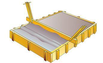Fundament für Terrasse Terrasse, Holzhaus garten