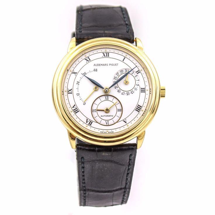AUDEMARS PIGUET Dual Time GMT Power Reserve Automatic Men's Gold Watch