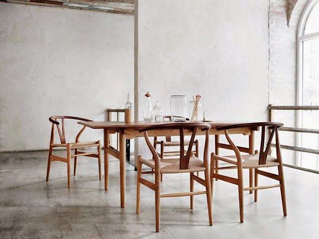 True beauty   The Wishbone chair - STIL inspiration