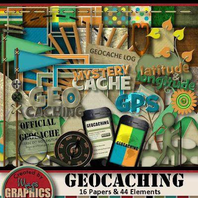 Scrapbooking Kit: GEOCACHING !