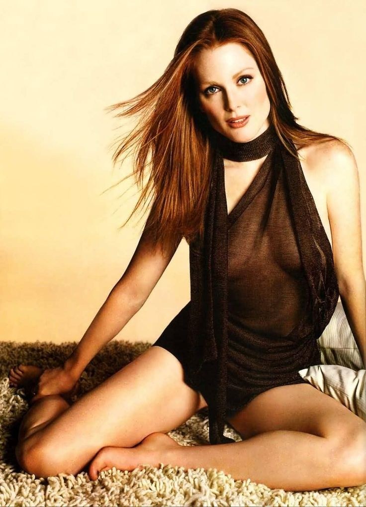 Julianne Moore Redhead Wallpaper