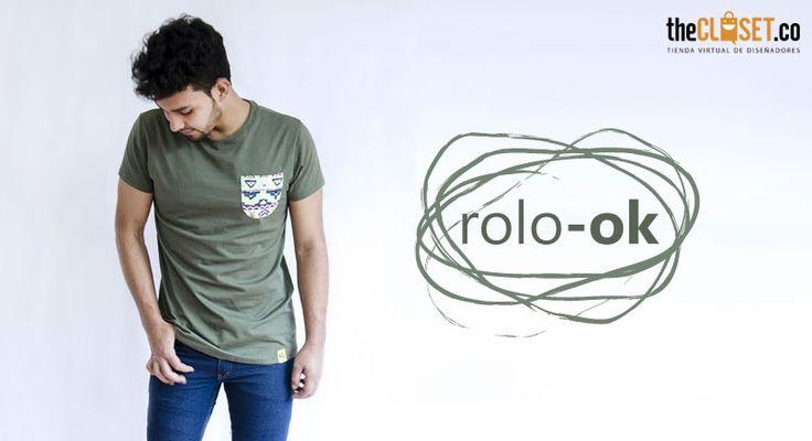 Renueva tu estilo, renueva tu forma de vivirlo con camisetas personalizadas Rolo-ok Camisetas #RedDeDiseñadores