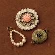Vintage Groove II Pearls & Roses Design Combo - Michael's