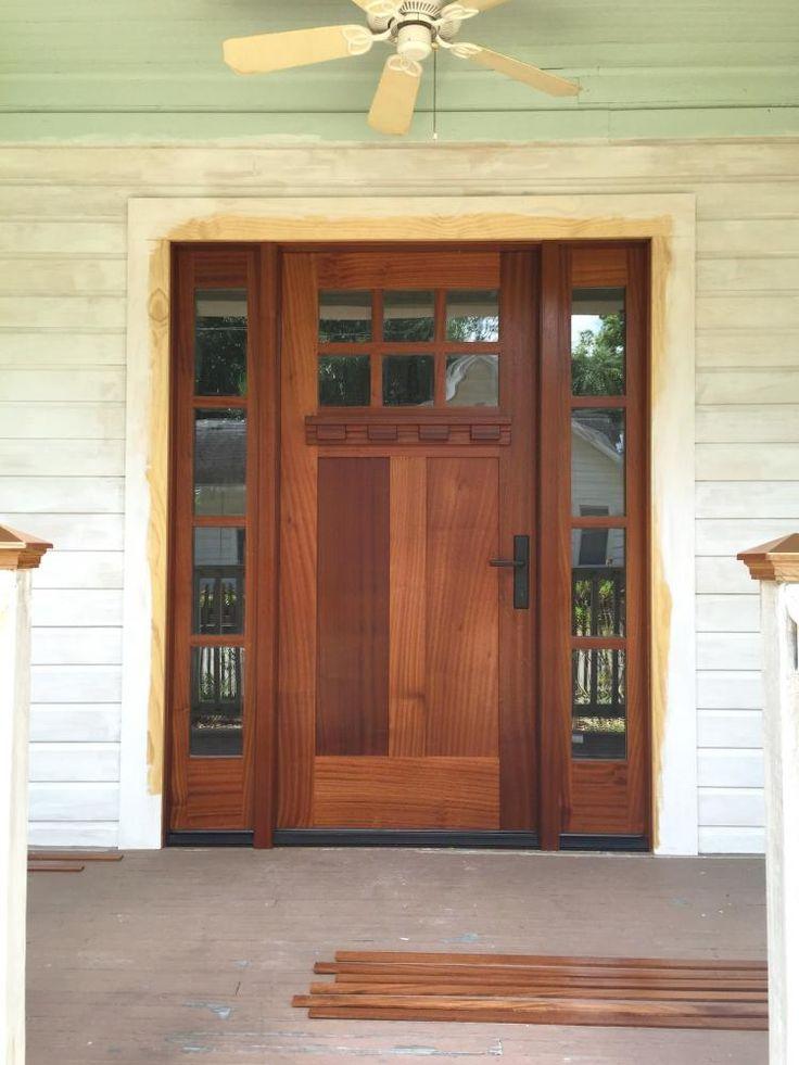 40 wonderful farmhouse front door entrance design ideas
