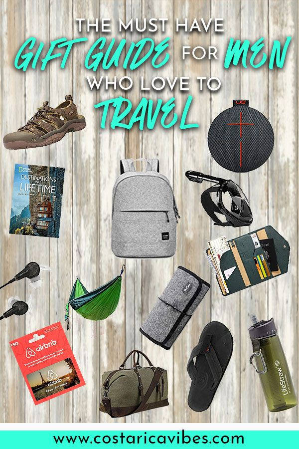 ebcf22fe2a1d The Ultimate List of Gifts for Men Who Travel