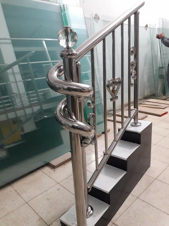 Pin By Jaouad Charroud On Corrimao Inox Stairs Design Railing Design Railing