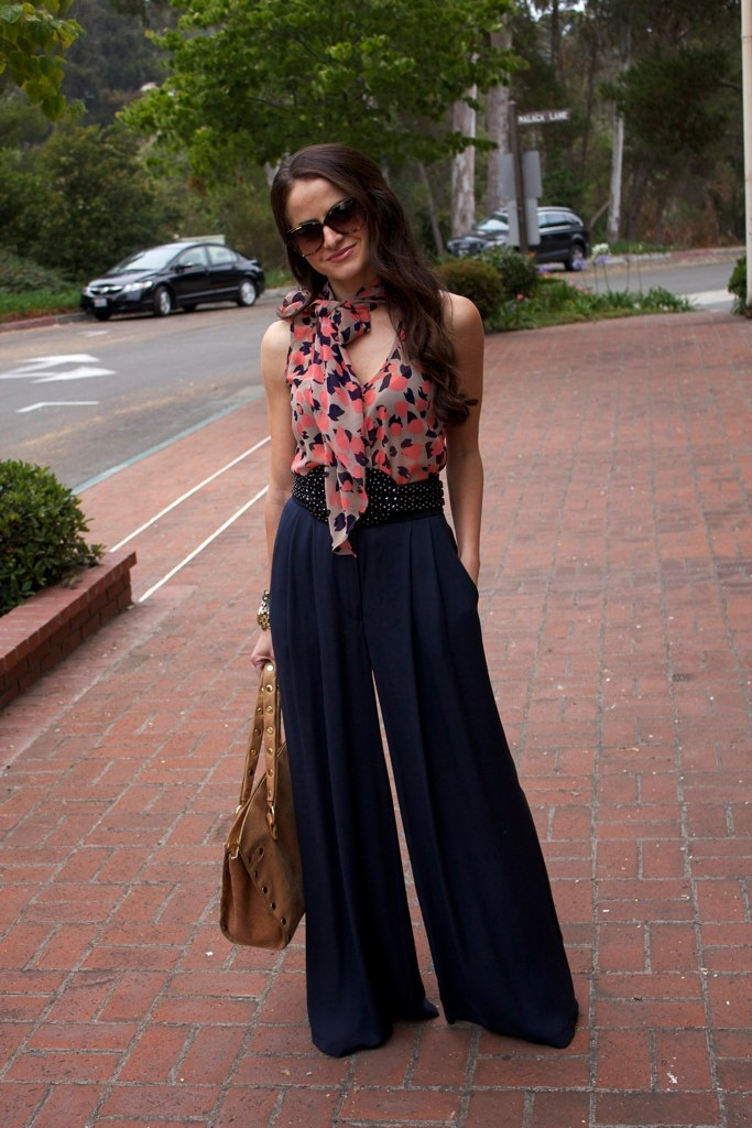 I would love some Palazzo pants!! A cute fun pattern with a black top would be perfect for work and observing!