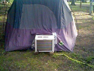 "Family Tents with Air Conditioning | Do You Hear of ""Air Condition Tent""?"