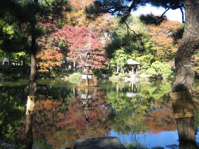 Sanctuaire Meiji, Japon   Projets de paysage   Honda Seiroku, « Père des parcs du Japon ...