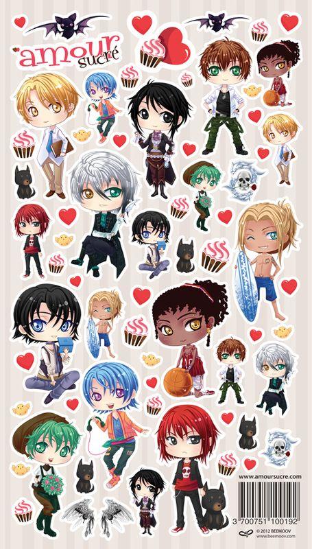 Stickers Sweet Amoris