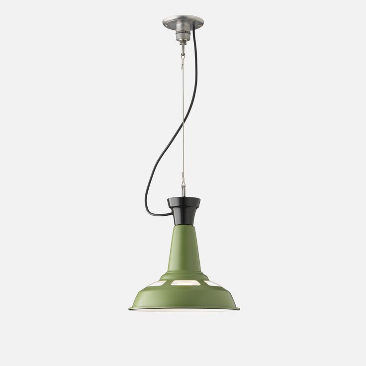 Factory Light No. 4 Cable Pendant, $269; available September 15th