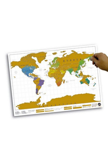 IS GIFT - Scratch Map - Cool Gift  $35.00