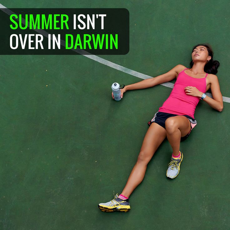 Who's in Darwin? You'll know Summer might be officially over in Australia, but it's not over in Darwin!