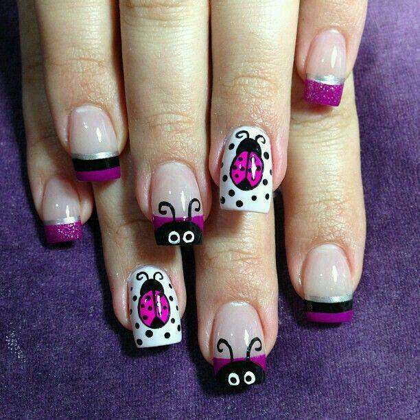 Mejores 430 imágenes de Nail Art en Pinterest   Uñas bonitas, Diseño ...