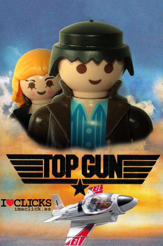 Así son las portadas de famosas películas en versión Playmobil.