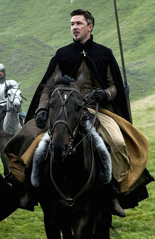 Petyr Baelish on a horse. ;) Game of Thrones