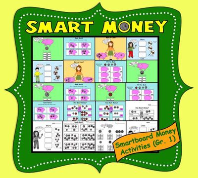 Smart+Money,+Interactive+Smartboard+Money+Activities+for+Gr.+1++from+Teaching+The+Smart+Way+on+TeachersNotebook.com+-++(20+pages)++-+Interactive+Smartboard+Activities+for+Gr.+1+