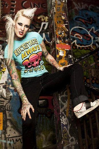 Tattoo Model - Lexy Hell - http://worldtattoosgallery.com/tattoo-model-lexy-hell-8/