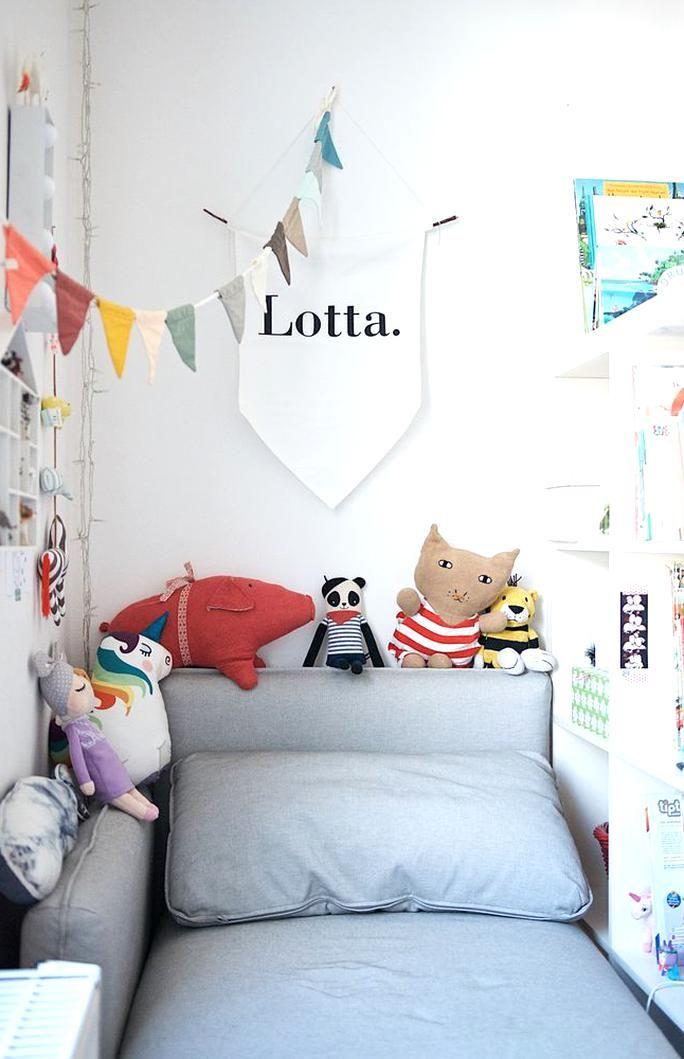 Sofa Vallentuna Von Ikea Im Kinderzimmer Small Kids Room Toddler Rooms Vallentuna