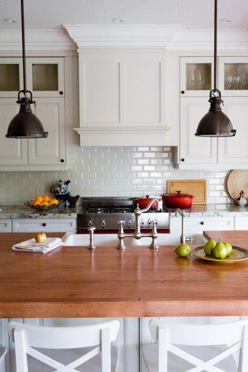 White Tile Backsplash Kitchen 53 best kitchens images on pinterest | home, kitchen and white