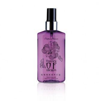 Spray per il corpo alle vitamine Avvolge con un delicato #profumo floreale. La sua formula delicata consente di applicare lo #spray più volte durante il giorno. Cosi puoi rinfrescarti, tutte le volte che vuoi!  #FMGroup #FMGroupItalia #triumphoforchids #beauty #care #bodycare