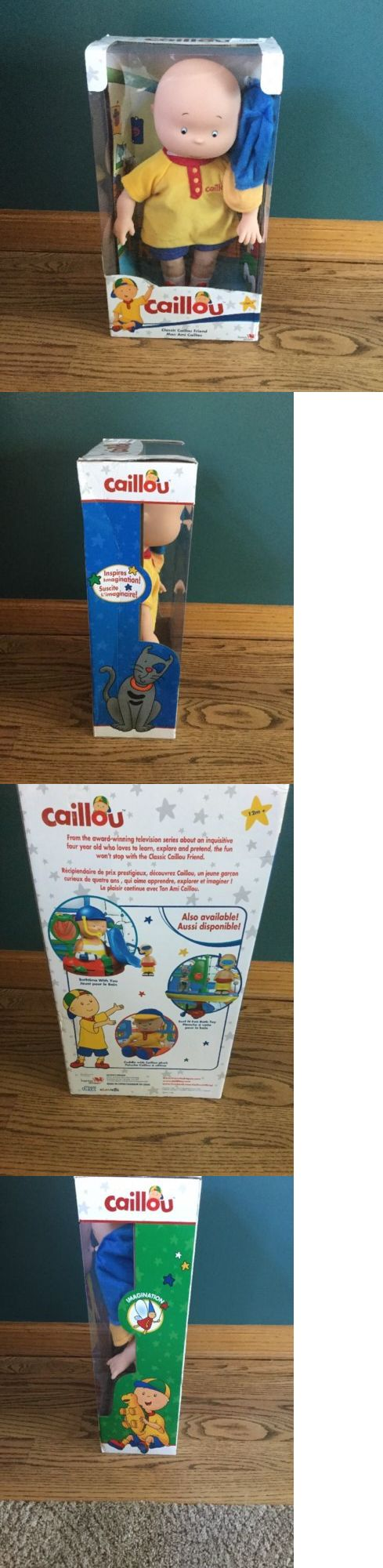 Caillou 20903: Caillou Classic Friend Doll 14 Brand New In Original Box -> BUY IT NOW ONLY: $96.99 on eBay!