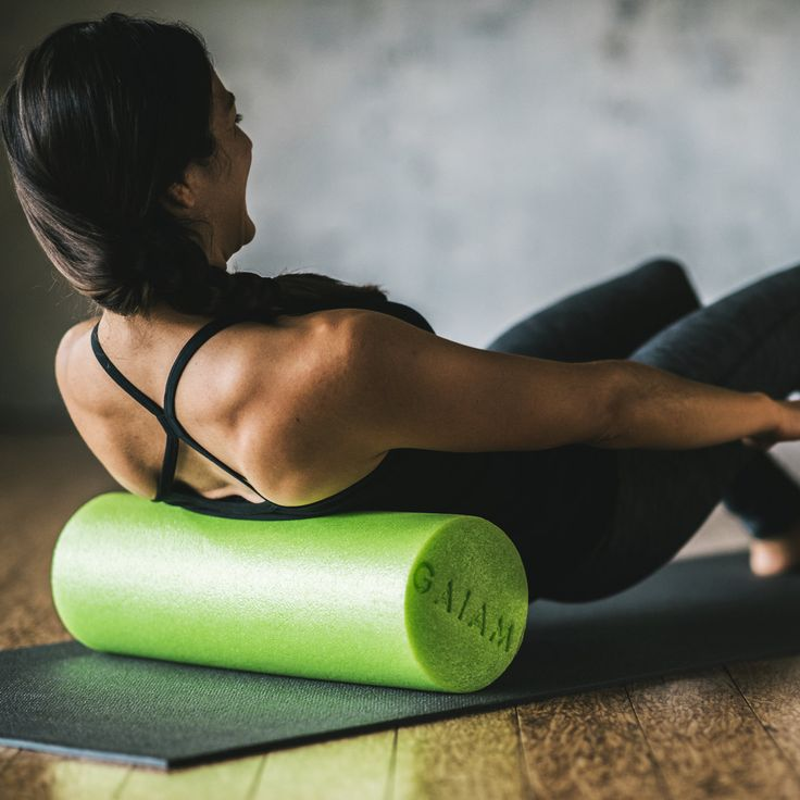 In the first post of our at-home summer workout series, Zen Girl Fitness is going to tell us what the hell to do with a foam roller.