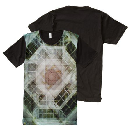 house kaleidoscope door All-Over-Print T-Shirt - click/tap to personalize and buy