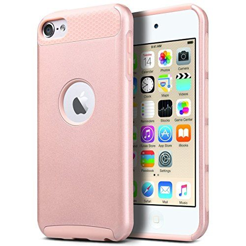 nice iPod Touch 5/6 Case, ULAK iPod Case Dual Layer Hybrid Hard PC + TPU Protective Case Cover for Apple iPod touch 5th/6th Generation (Rose Gold) Check more at http://forsaletoday.uk/shop/ipod/ipod-touch-56-case-ulak-ipod-case-dual-layer-hybrid-hard-pc-tpu-protective-case-cover-for-apple-ipod-touch-5th6th-generation-rose-gold/