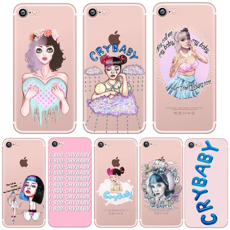 #AliExpress phone cases Cry Baby Melanie Martinez Clear soft silicone case cover for Apple iphone 7 7plus 5S SE 6S 6plus TPU (32763842228) #SuperDeals